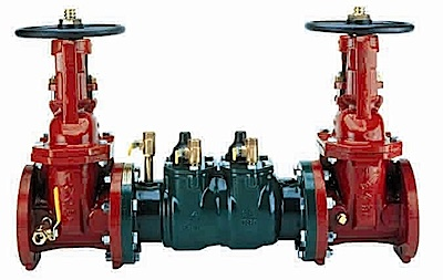 double check Backflow Preventer
