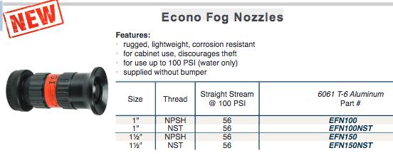 Econo  Fog Nozzles