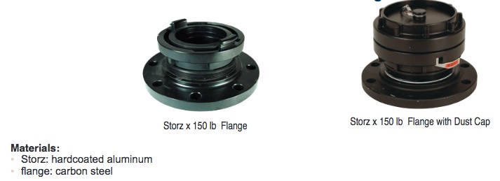 Storz Hydrant Fittings